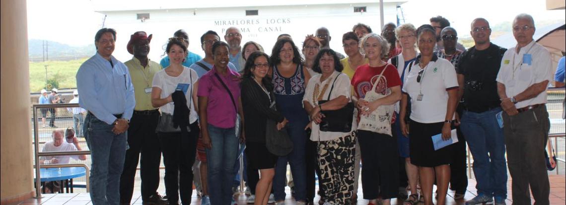 IDIAP y miembros de la FAO de Sudamérica, Mesoamérica y el Caribe visitan el Canal de Panamá