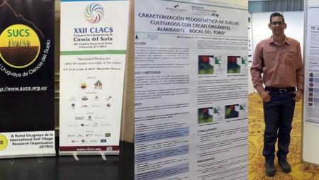 Participación de IDIAP en el Congreso Latinoamericano de las Ciencias del Suelo