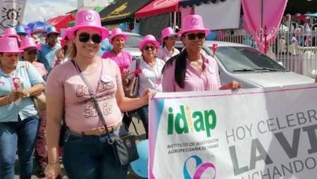 IDIAP participó en el cierre de campaña de la cinta celeste y rosada a nivel nacional en Coclé