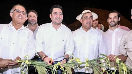 Excelencias inauguran Pabellón de IDIAP en Feria de San Sebastián en Ocú, Herrera