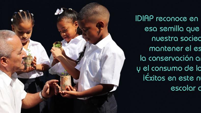 IDIAP felicita a todos los escolares, por ser simientes del futuro!