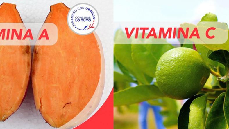 Vitamina A y vitamina C protegen al cuerpo de enfermedades