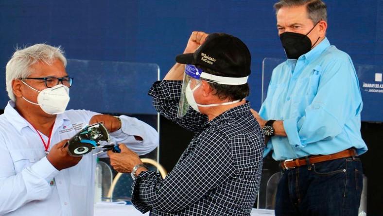 IDIAP Colón recibe donación para finca experimental